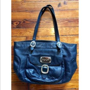 Michael Kors Hudson Downtown Leather Tote